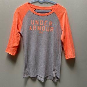 Women's Under Armour 3/4 length shirt